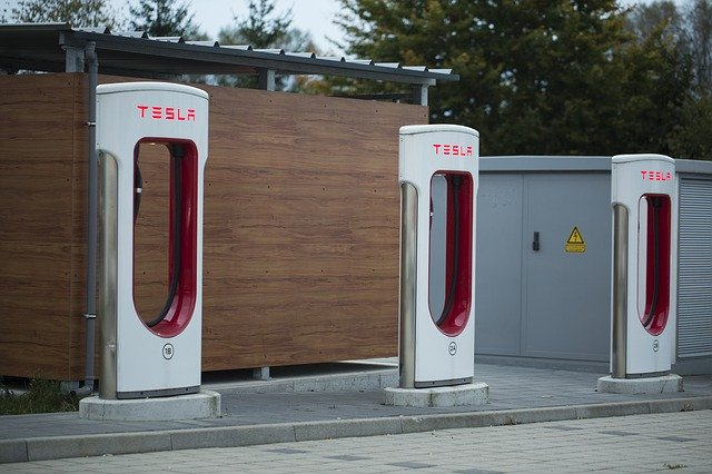 nabíjecí stanice Tesla