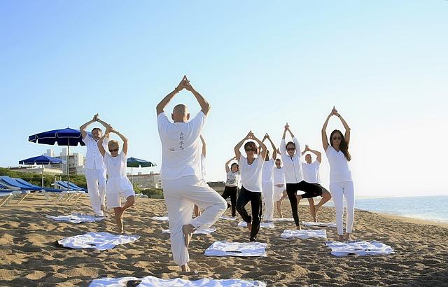 skupinová jóga