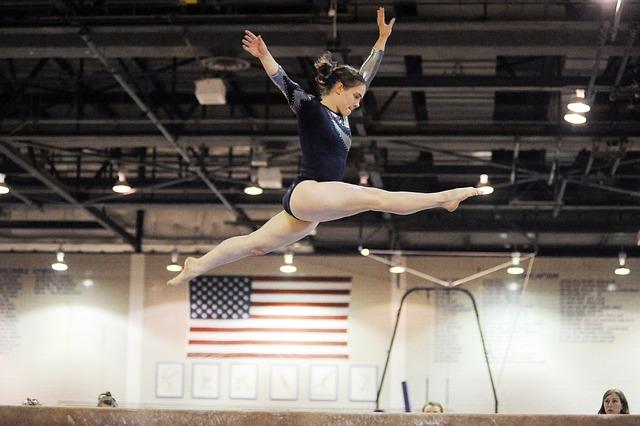 sportovní gymnastka