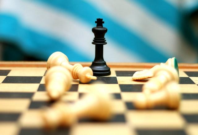 vyhraná partie šachu