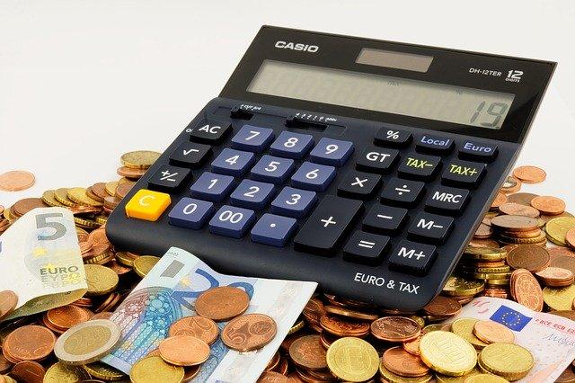 počítání penez