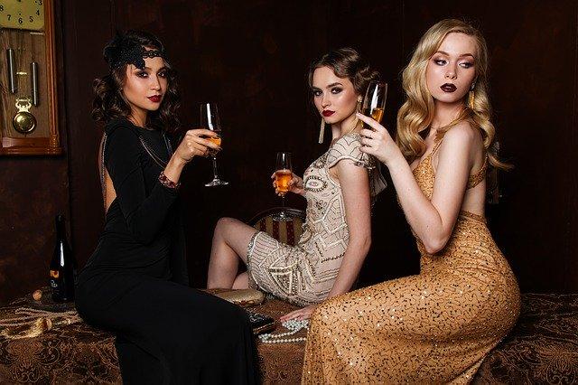 Dívky na večírku